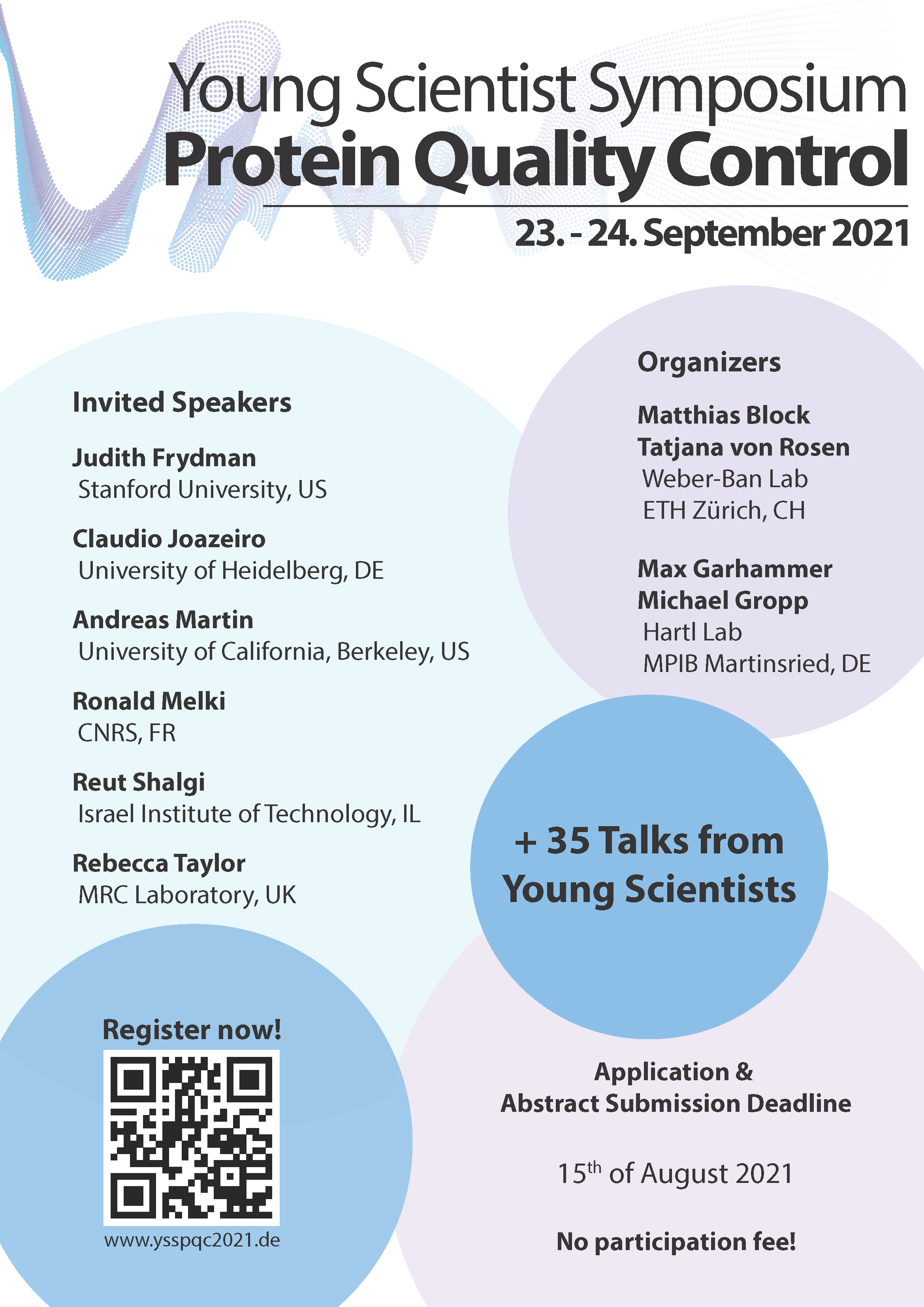 YSSPQC 2021 Conference Poster